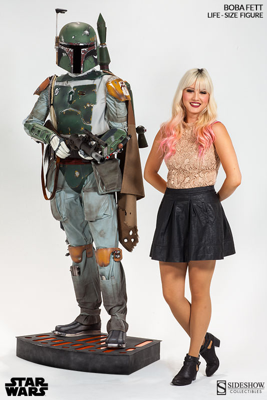 BOBA FETT LIFE-SIZE FIGURE FROM SIDESHOW COLLECTIBLES