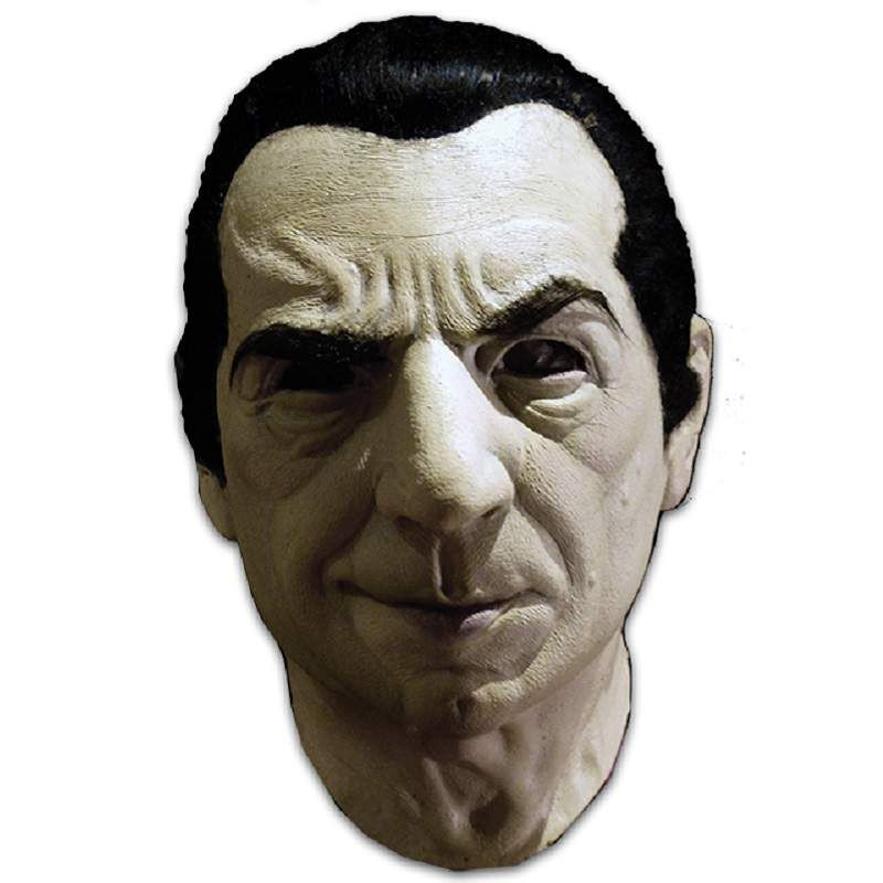 BELA LUGOSI AS DRACULA LATEX HEAD MASK FROM TRICK OR TREAT STUDIOS