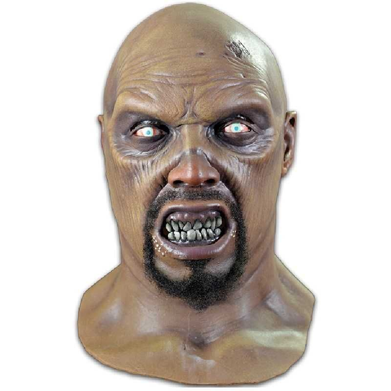 GEORGE ROMERO LAND OF THE DEAD BIG DADDY ZOMBIE LATEX HEAD AND NECK MASK FROM TRICK OR TREAT STUDIOS