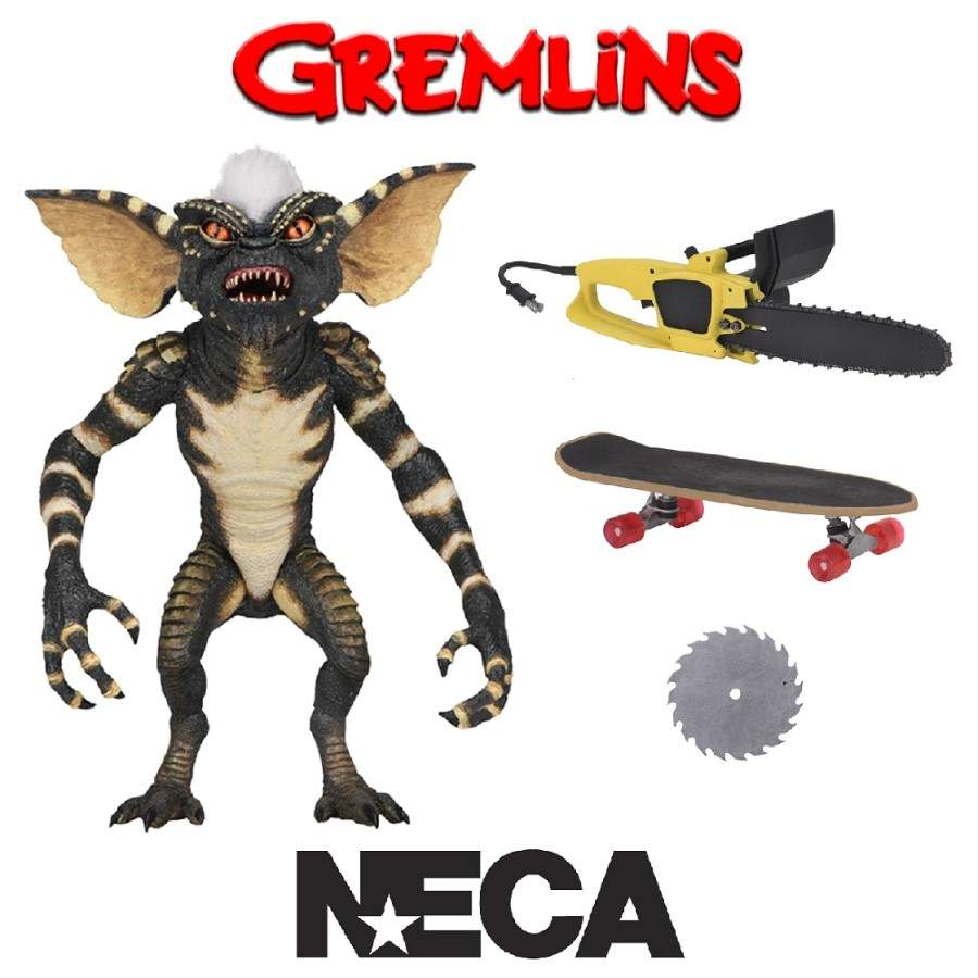 "GREMLINS 7"" SCALE ULTIMATE STRIPE ACTION FIGURE FROM NECA"