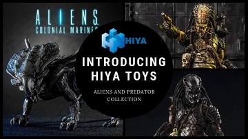 Hiya Toys action figures and toys