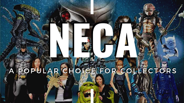 NECA action figures, toys, statues and props