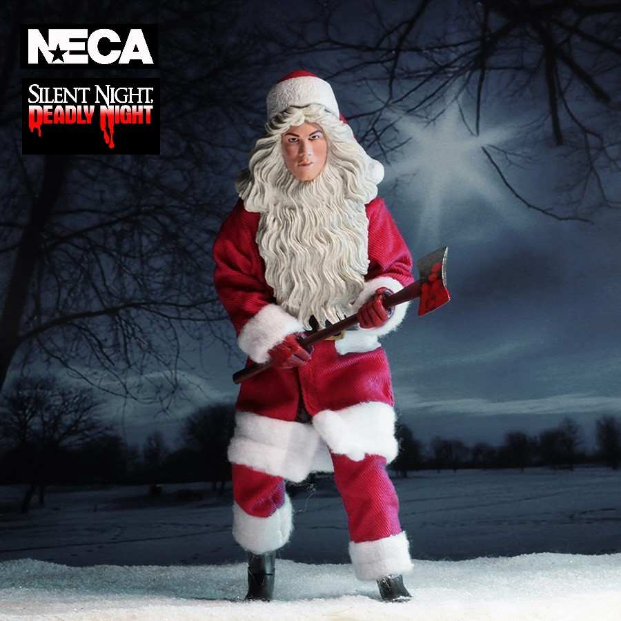 SILENT NIGHT, DEADLY NIGHT BILLY CHAPMAN ACTION FIGURE FROM NECA