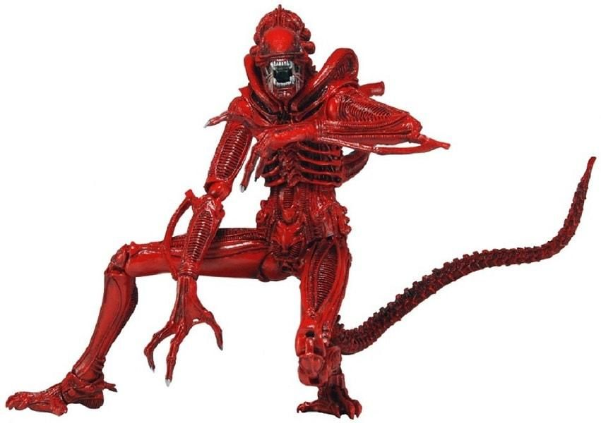 Aliens Series 5 7 Red Aliens Genocide Xenomorph Warrior