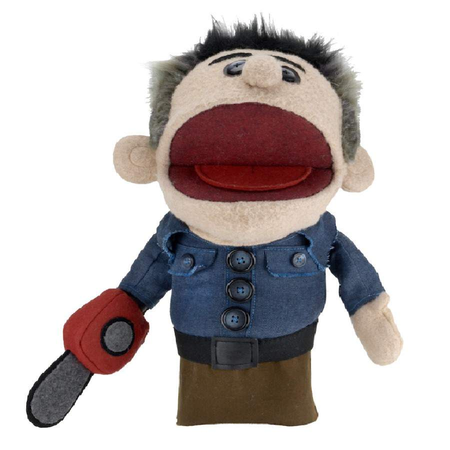"ASH VS EVIL DEAD ASHY SLASHY 15"" PROP REPLICA PUPPET FROM NECA"