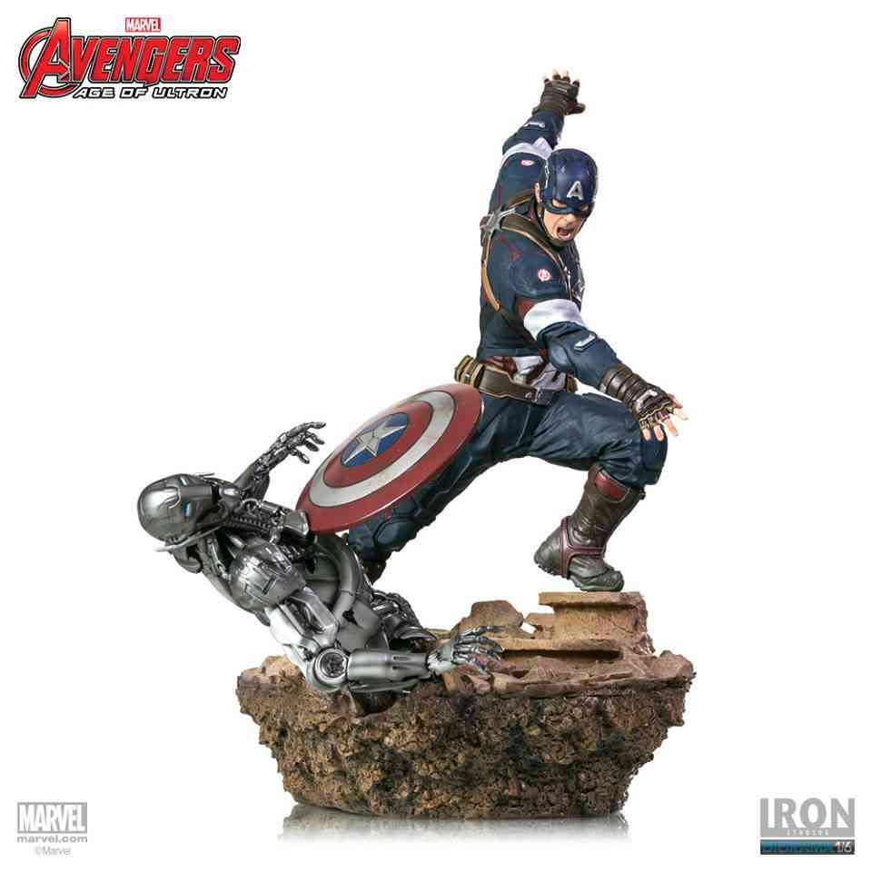 Avengers Age Of Ultron Captain America 1 6 Scale Diorama