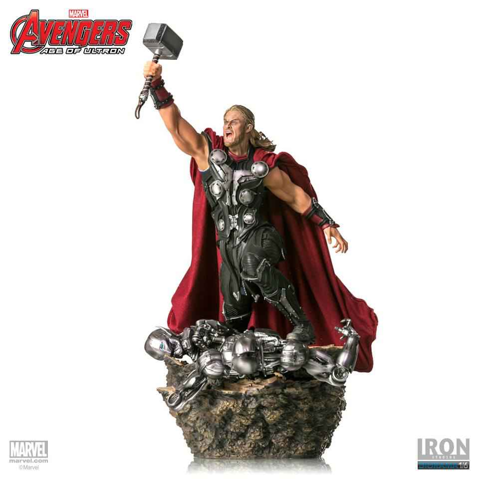 AVENGERS AGE OF ULTRON THOR 1:6 SCALE DIORAMA STATUE FROM IRON STUDIOS