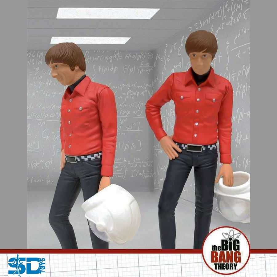 "BIG BANG THEORY 7"" HOWARD WOLOWITZ FIGURE FROM SD TOYS"