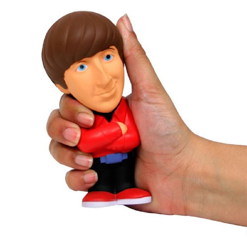 BIG BANG THEORY HOWARD WOLOWITZ STRESS DOLL FROM SD TOYS