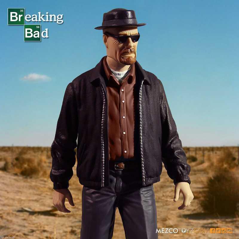"""Breaking Bad Mezco 12/"""" Heisenberg DELUXE ACTION FIGURE"""