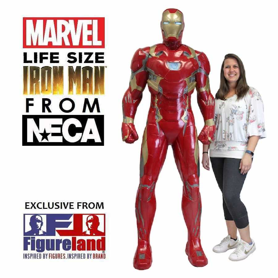 CAPTAIN AMERICA: CIVIL WAR - LIFE SIZE IRON MAN FROM NECA