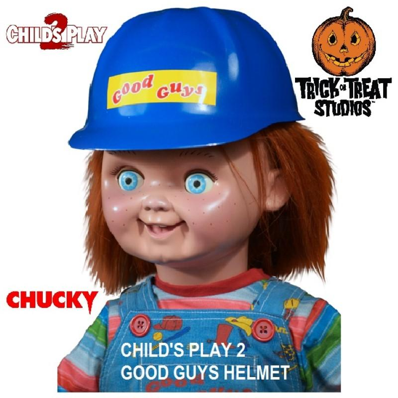 CHILD'S PLAY 2 PROP REPLICA 1:1 GOOD GUYS HELMET FROM TRICK OR TREAT STUDIOS