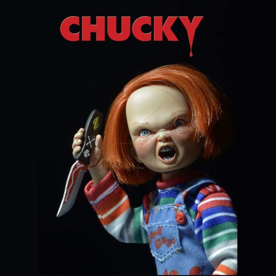"CHILD'S PLAY CHUCKY 5.5"" CLOTHED ACTION FIGURE FROM NECA"