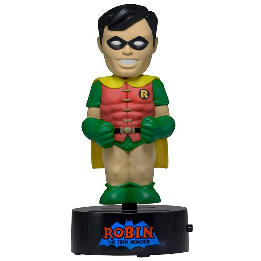 DC COMICS ROBIN SOLAR POWERED BODY KNOCKER FROM NECA
