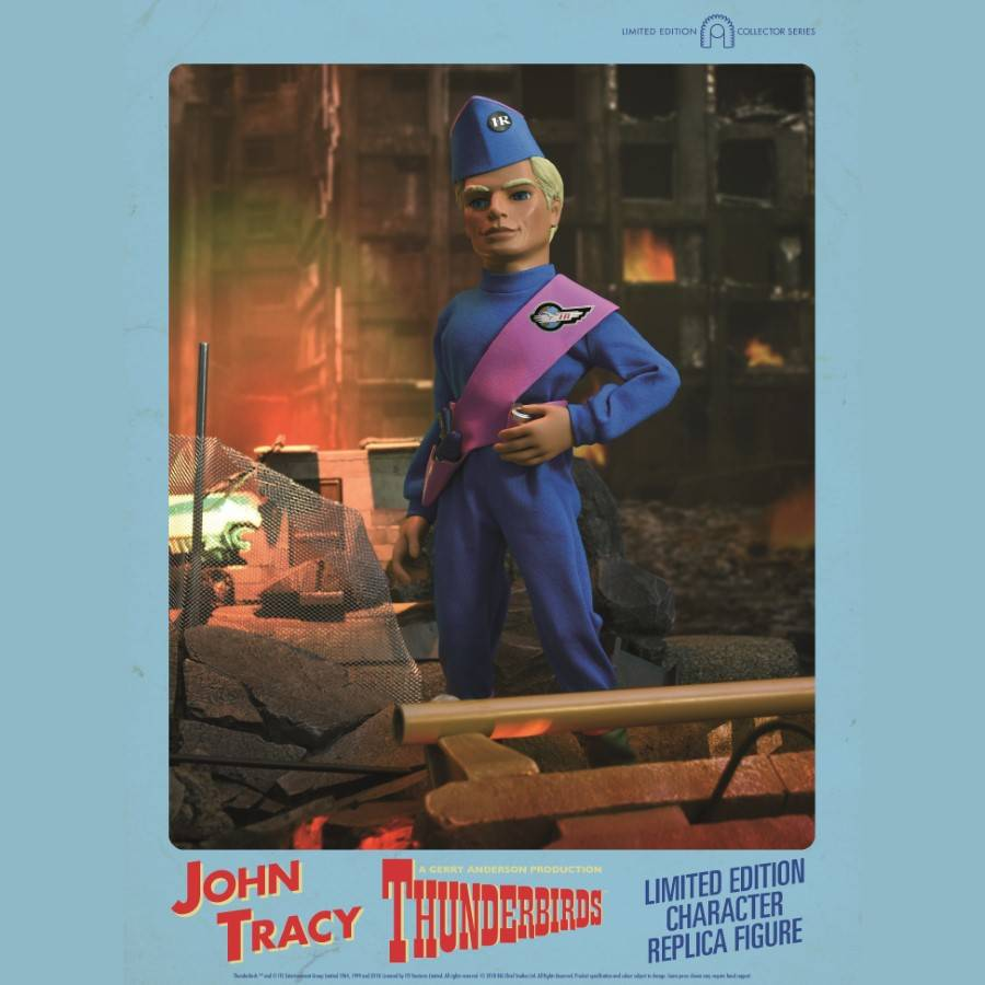 THUNDERBIRDS INTERNATIONAL RESCUE JOHN TRACY 1:6 CHARACTER REPLICA FIGURE FROM BIG CHIEF STUDIOS