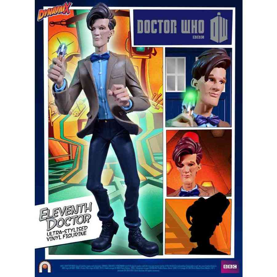 DOCTOR WHO 11TH DOCTOR SERIES 5 DYNAMIX FIGURINE FROM BIG CHIEF STUDIOS