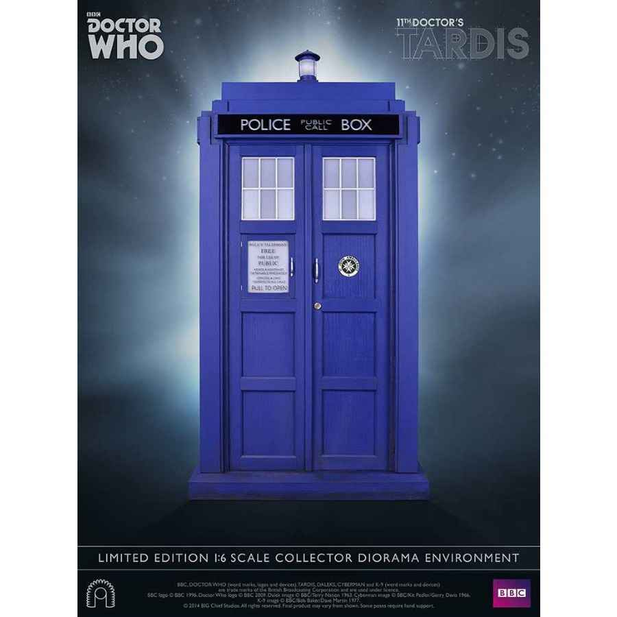 Doctor Who 11th Doctor Tardis 1 6 Scale Collector Diorama
