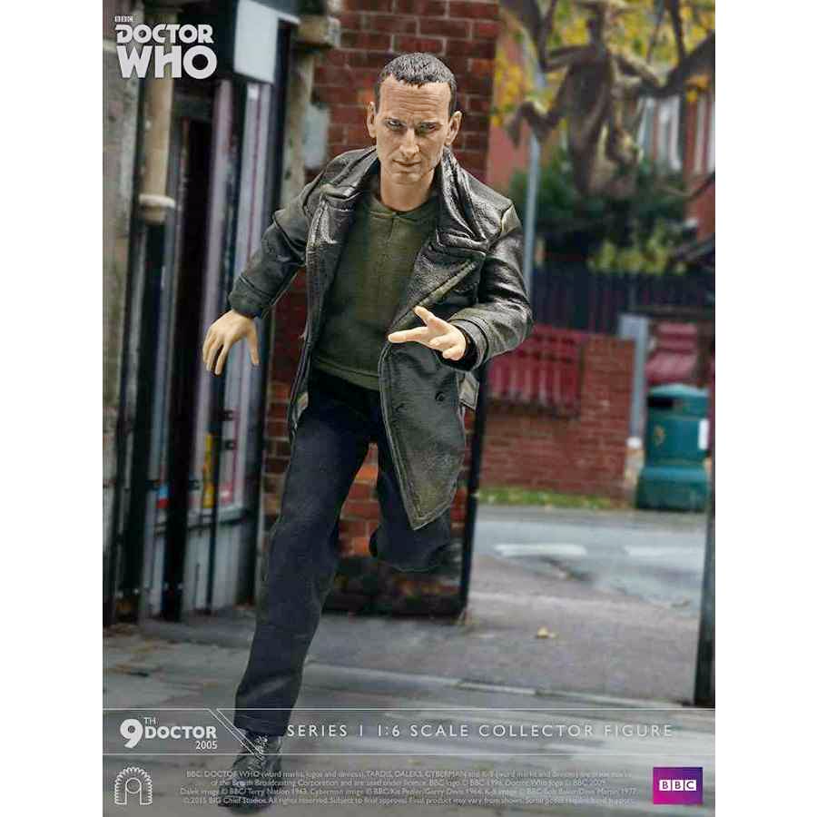 DOCTOR WHO 9TH DOCTOR 1:6 SCALE COLLECTOR FIGURE FROM BIG CHIEF STUDIOS