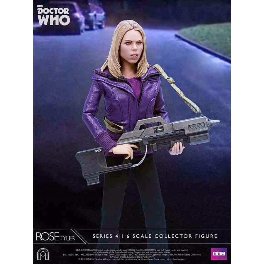 DOCTOR WHO ROSE TYLER 1:6 SCALE COLLECTOR FIGURE FROM BIG CHIEF STUDIOS