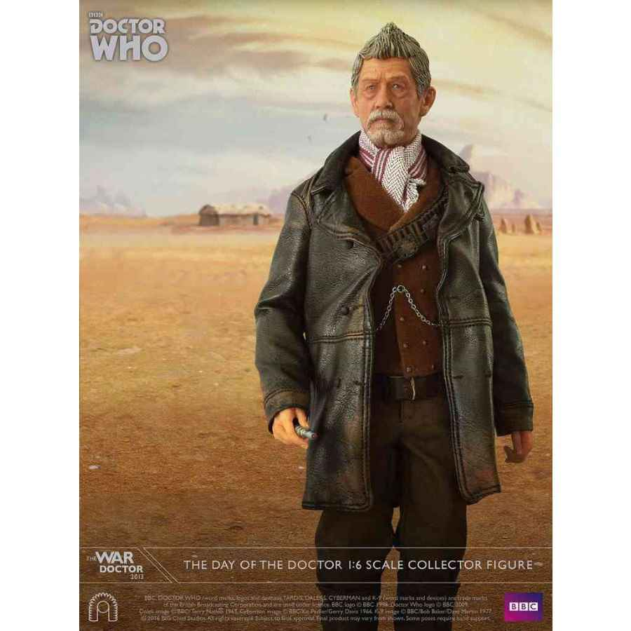 DOCTOR WHO THE WAR DOCTOR 1:6 SCALE COLLECTOR FIGURE FROM BIG CHIEF STUDIOS
