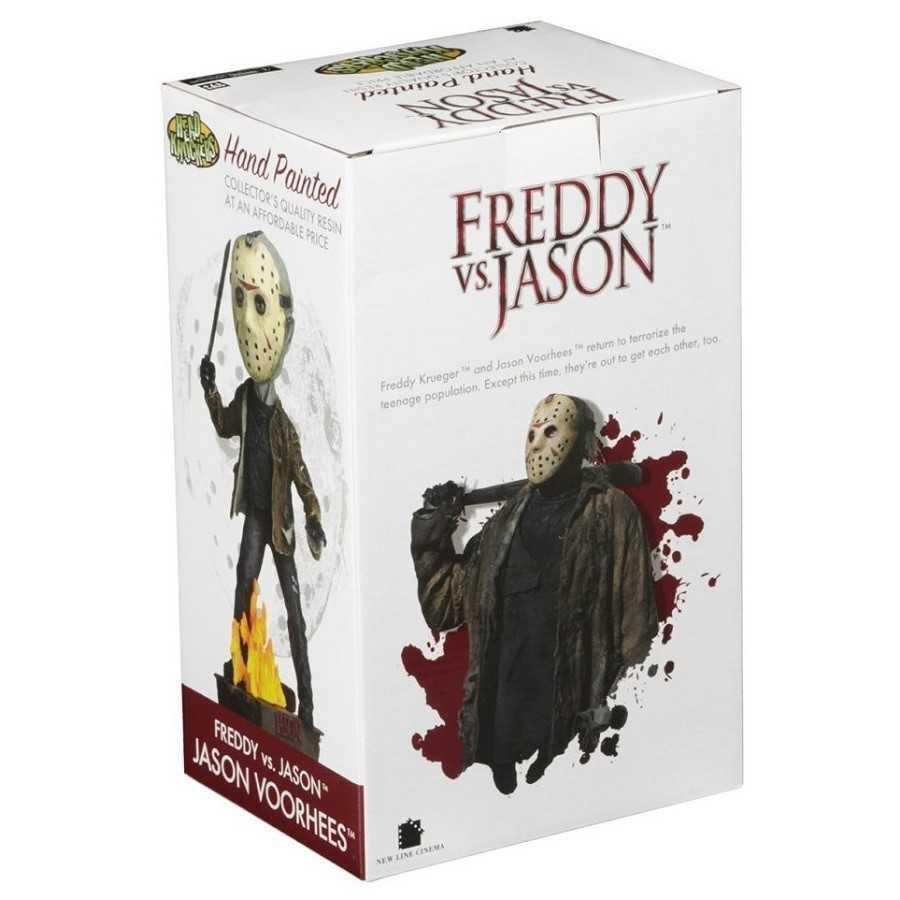 Jason 39771 Bobble Heads NECA Head Knocker Freddy vs Jason