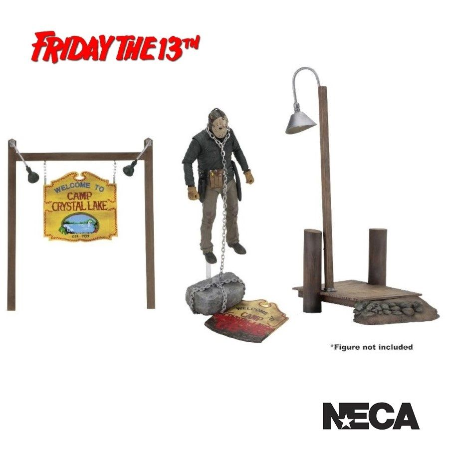 FRIDAY THE 13TH CAMP CRYSTAL LAKE ACCESSORY PACK FROM NECA
