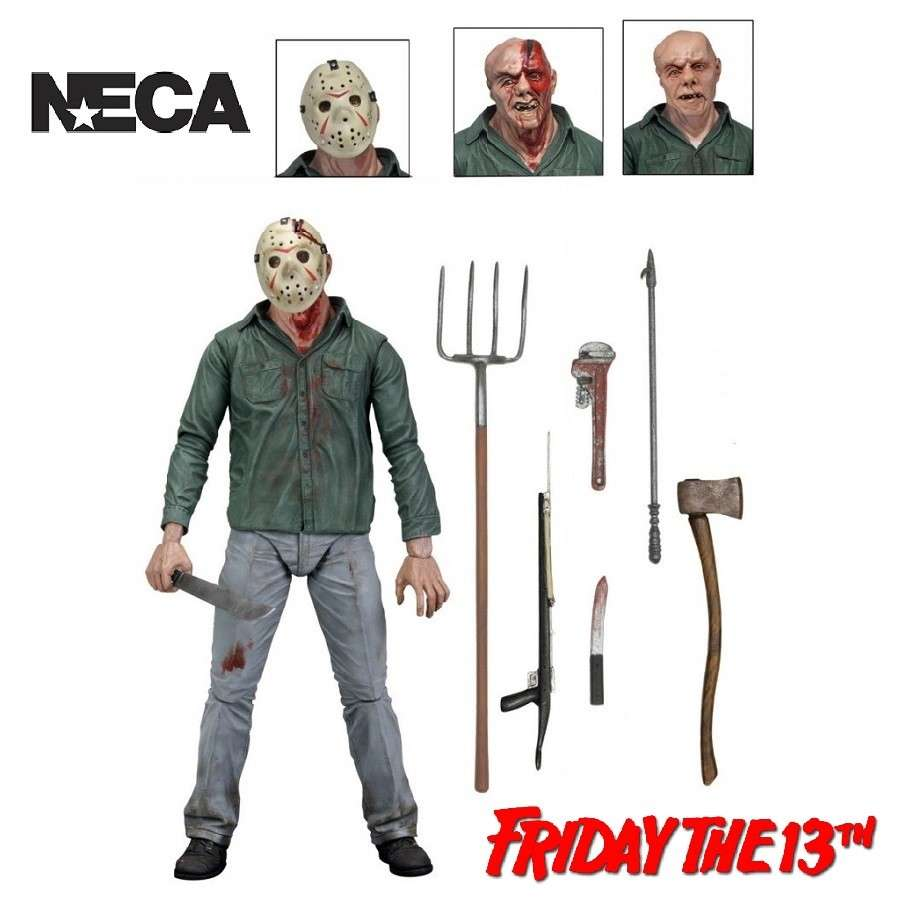 "FRIDAY THE 13TH PART 3 ULTIMATE JASON 7"" ACTION FIGURE FROM NECA"