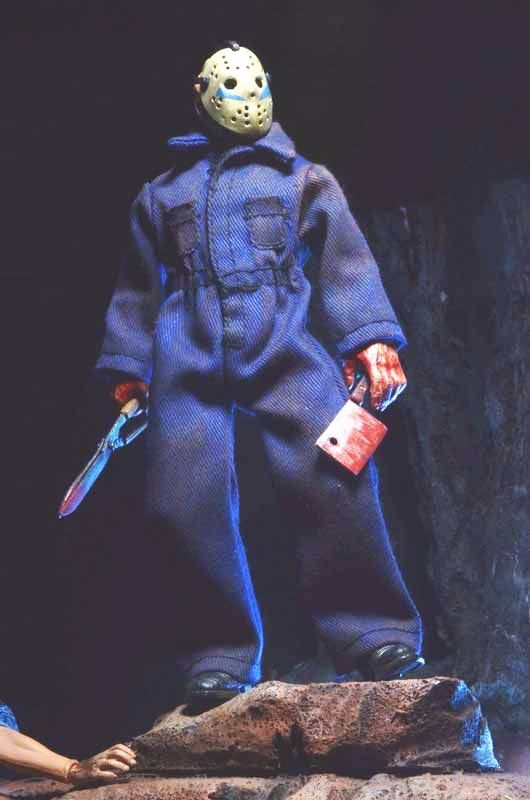 FRIDAY THE 13TH PART 5 - 8 CLOTHED JASON ROY ACTION FIGURE ...
