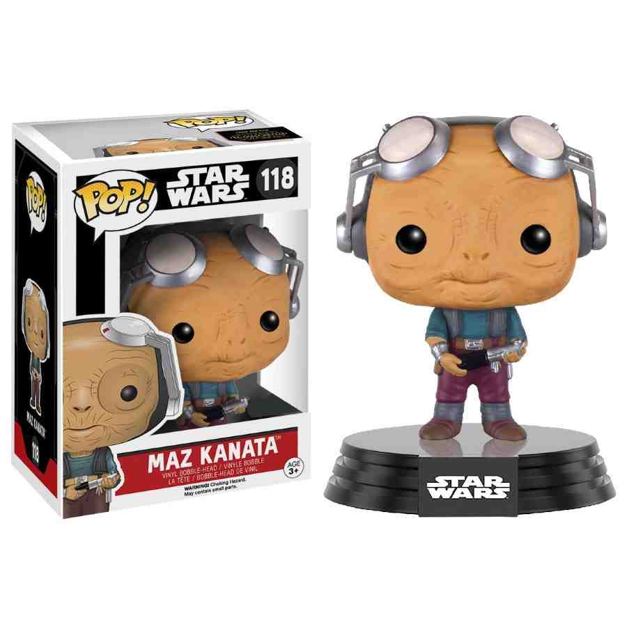 FUNKO POP! STAR WARS: EPISODE VII MAZ KANATA BOBBLE-HEAD VINYL FIGURE