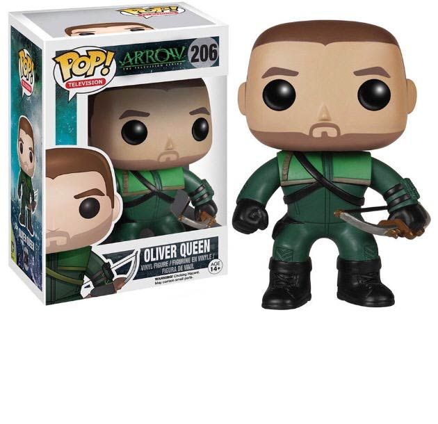 Funko Pop Television Arrow Unmasked Oliver Queen Vinyl