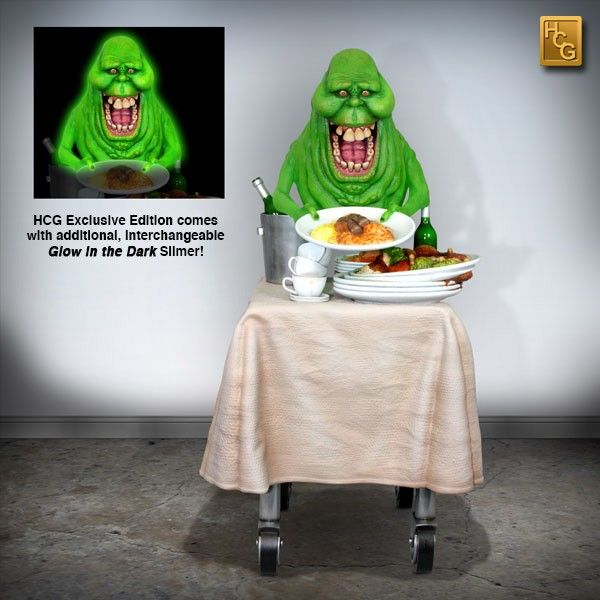 GHOSTBUSTERS EXCLUSIVE 1:4 SCALE SLIMER  FROM HOLLYWOOD COLLECTIBLES GROUP
