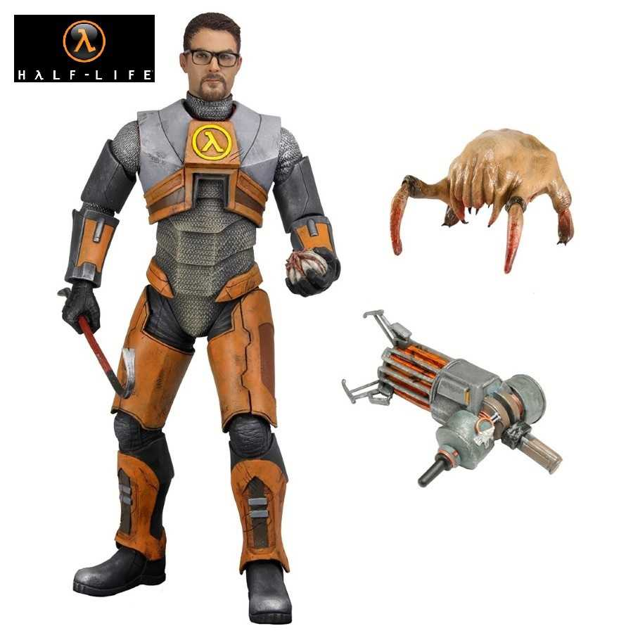"HALF-LIFE 2 GORDON FREEMAN 7"" SCALE ACTION FIGURE FROM NECA"