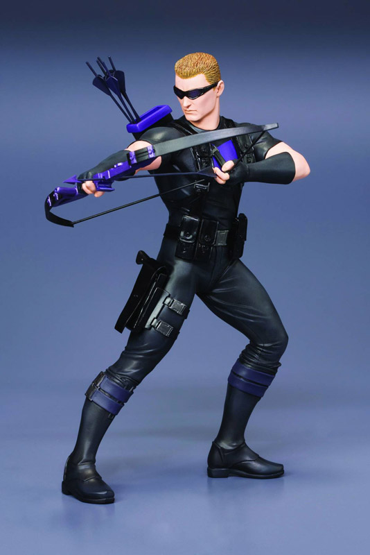 HAWKEYE MARVEL COMICS AVENGERS NOW ARTFX+ STATUE FROM KOTOBUKIYA
