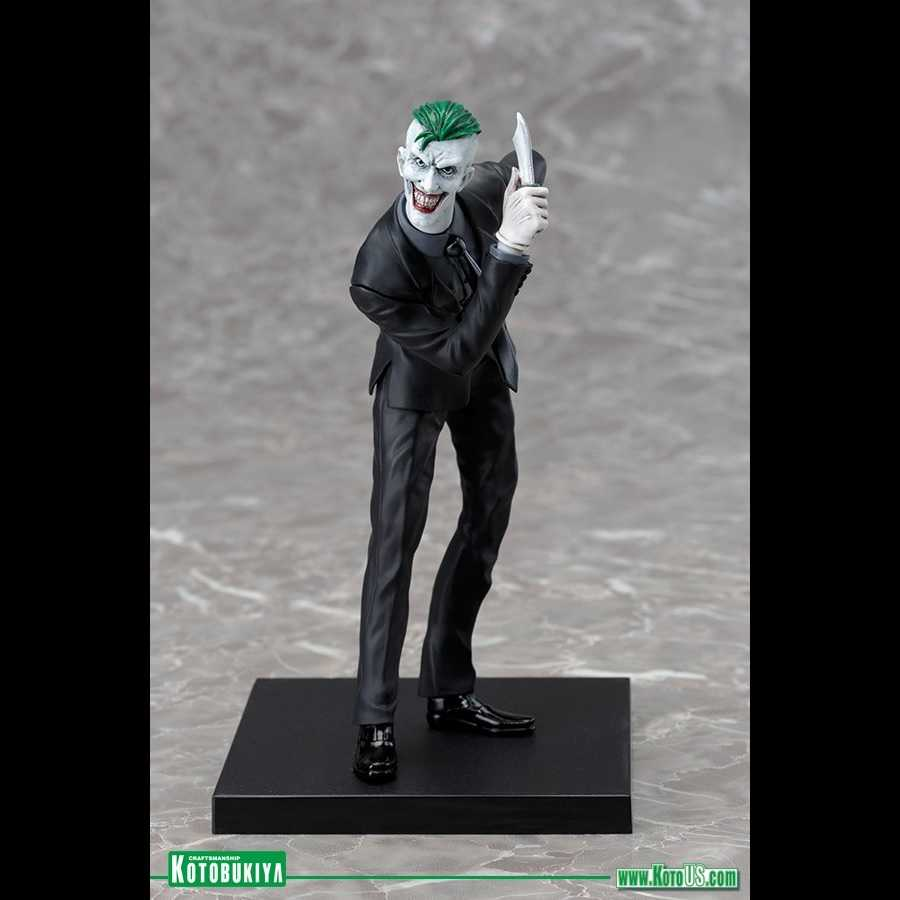 JOKER DC COMICS NEW 52 ARTFX+ STATUE FROM KOTOBUKIYA
