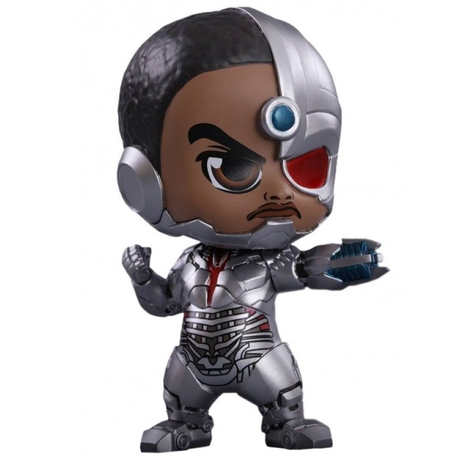 JUSTICE LEAGUE CYBORG COSBABY FIGURE FROM HOT TOYS