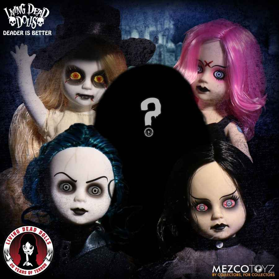 LIVING DEAD DOLLS 20TH ANNIVERSARY SERIES FROM MEZCO TOYZ