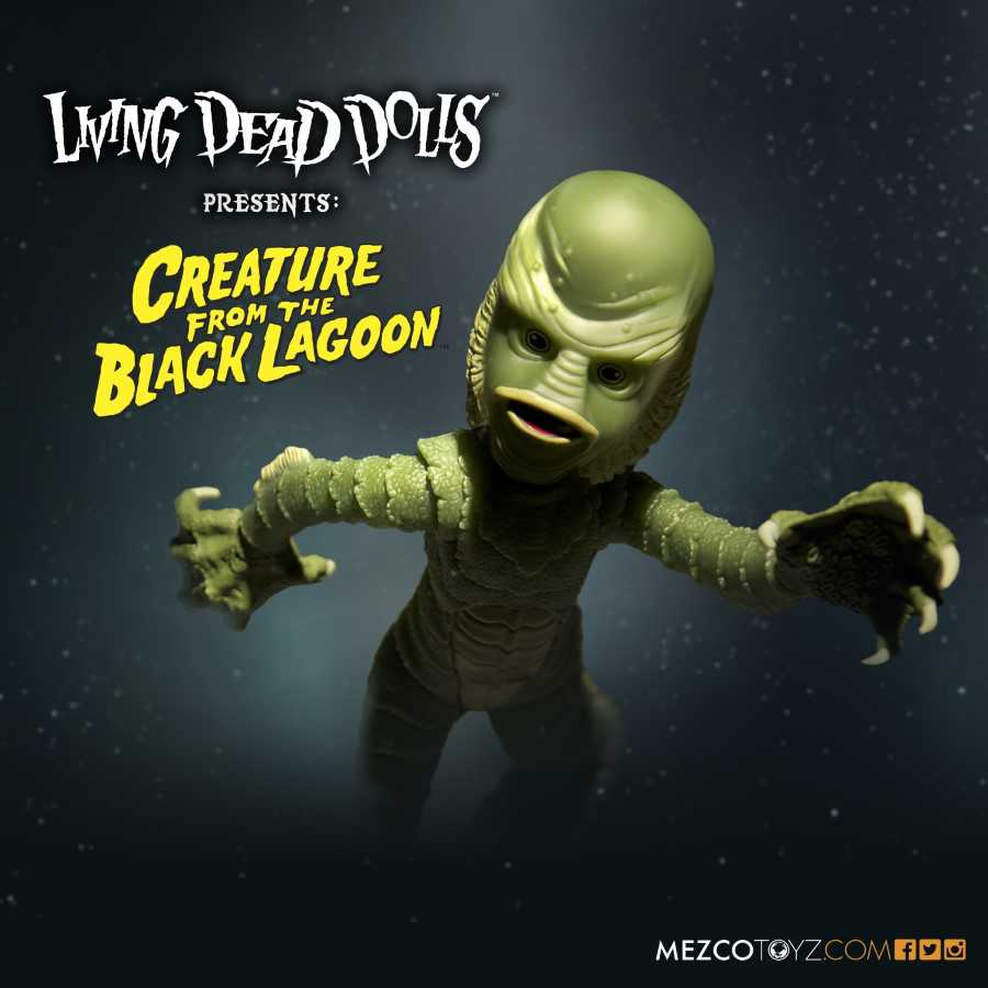LIVING DEAD DOLLS CREATURE FROM THE BLACK LAGOON FROM MEZCO TOYZ