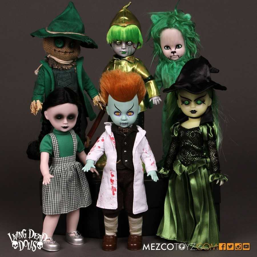 LIVING DEAD DOLLS LOST IN OZ VARIANTS FULL SET FROM MEZCO TOYZ