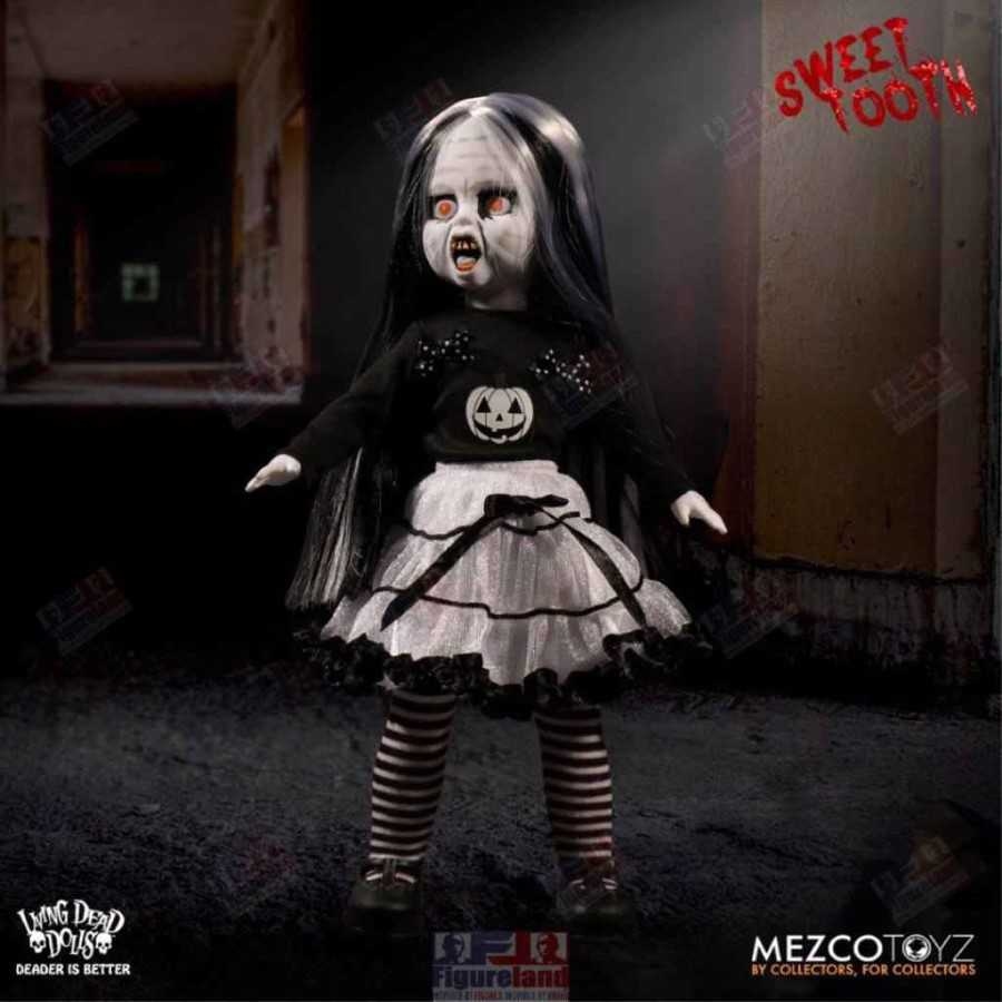 Living Dead Dolls Sweet Tooth Black And White Halloween