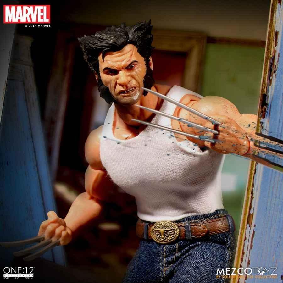 Mezco Toyz ONE:12 Old Man Logan Marvel Wolverine Comic Books Action Figure 76533