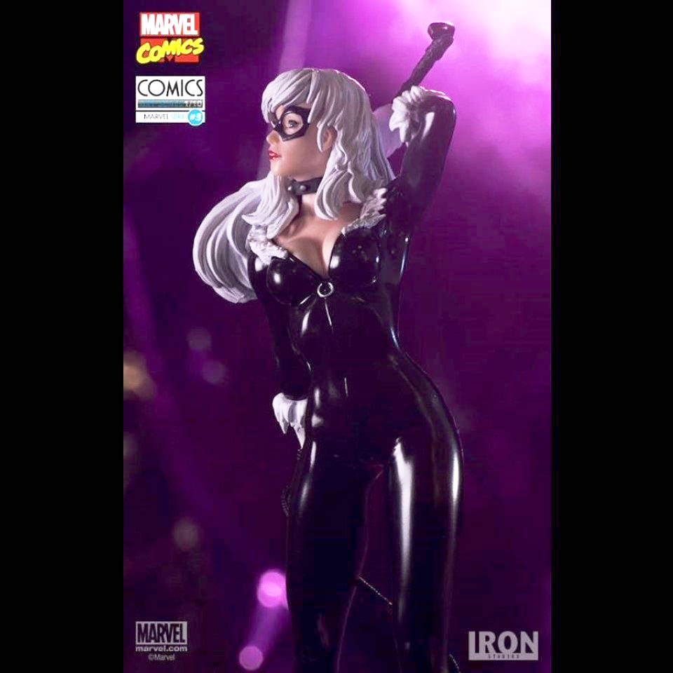 MARVEL COMICS SERIES 3 BLACK CAT 1:10 ART SCALE STATUE FROM IRON STUDIOS