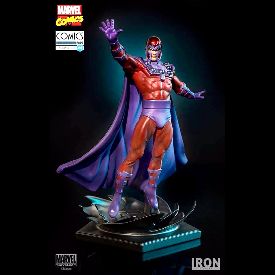 MARVEL COMICS SERIES 4 MAGNETO 1:10 ART SCALE STATUE FROM IRON STUDIOS