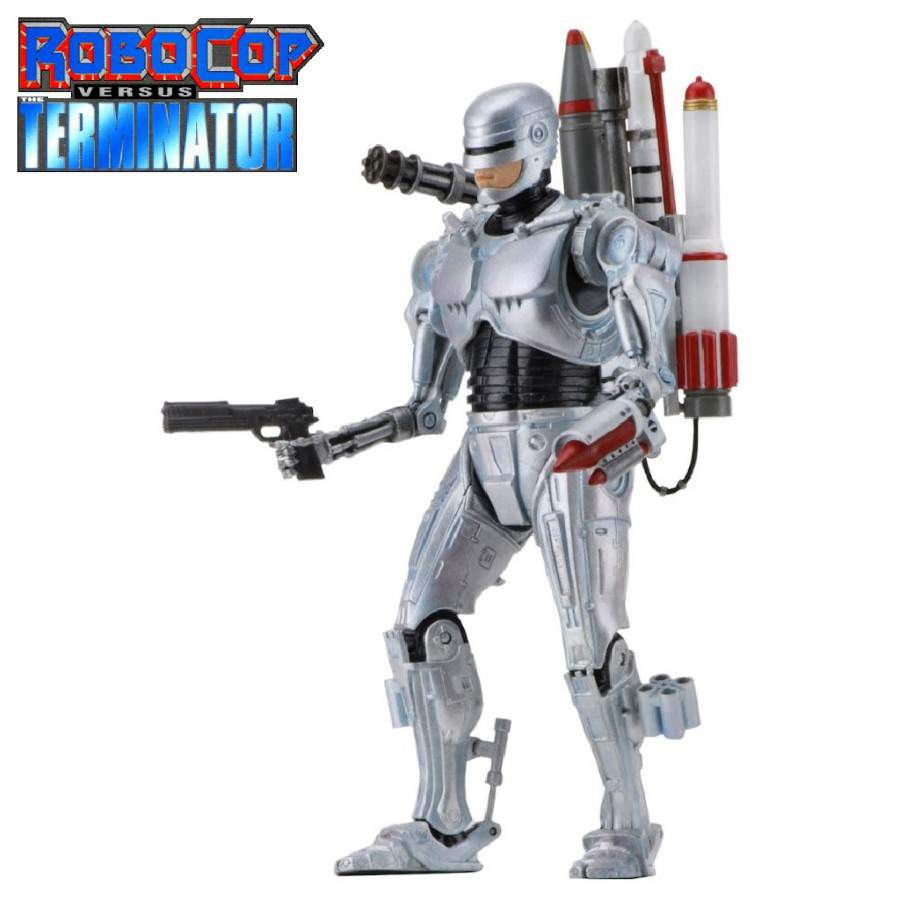 "ROBOCOP VS THE TERMINATOR 7"" ULTIMATE FUTURE ROBOCOP ACTION FIGURE FROM NECA"