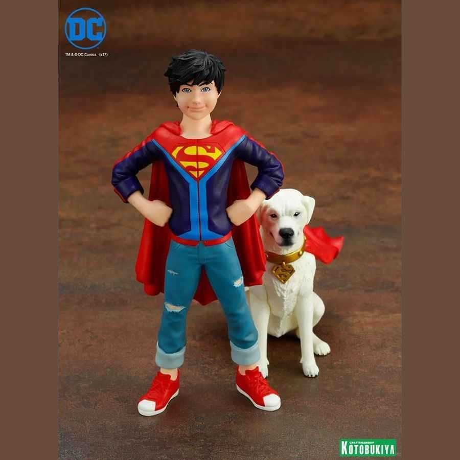 SUPER SONS JONATHAN KENT & KRYPTO DC COMICS ARTFX+ STATUES TWO PACK FROM KOTOBUKIYA