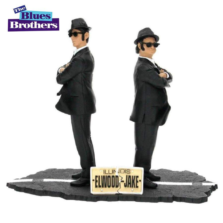 THE BLUES BROTHERS JAKE AND ELWOOD FIGURES 2 PACK FROM SD TOYS