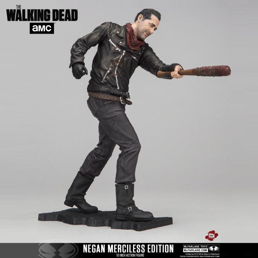 "THE WALKING DEAD 10"" NEGAN MERCILESS EDITION DELUXE FIGURE FROM MCFARLANE TOYS"