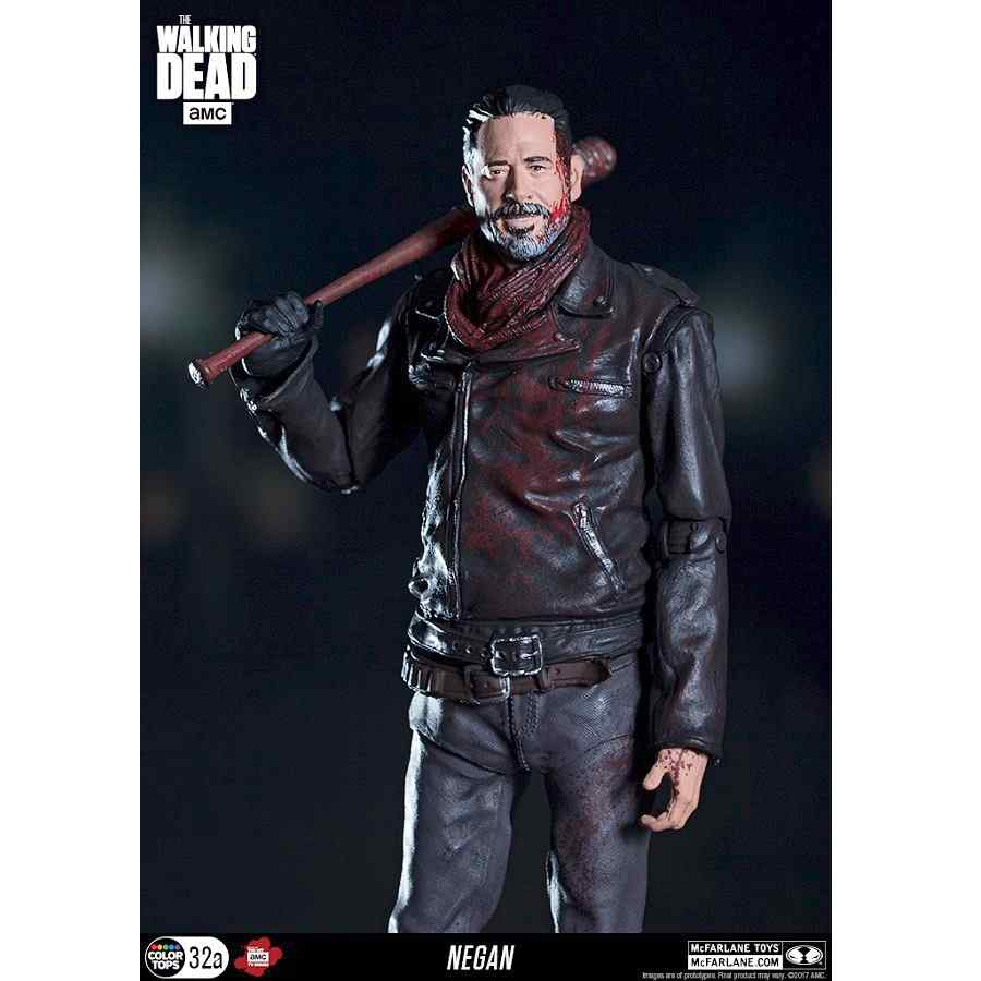 The Walking Dead Tv Negan 7 Exclusive Bloody Version
