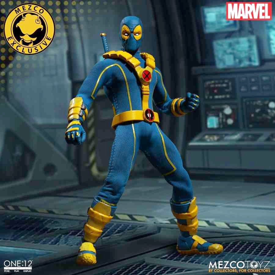 X-MEN DEADPOOL ONE:12 COLLECTIVE 2017 SUMMER EXCLUSIVE LIMITED EDITION ACTION FIGURE FROM MEZCO TOYZ